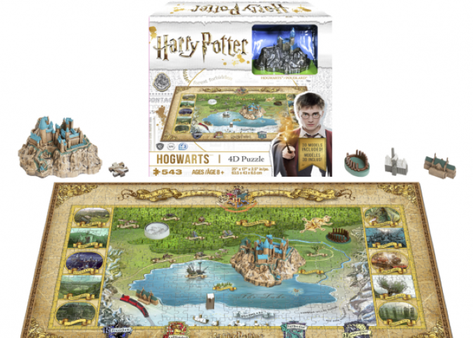 Harry Potter Wizarding World 4D Mini Puzzle