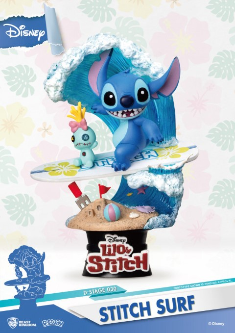 Lilo & Stitch D-Select 15cm Statue