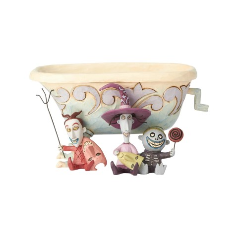 PREORDER  Tricksters and Treats Bowl  Candy Dish  Lock Shock and Barrell  Disney Traditions