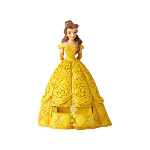 Belle with Chip Charm - Disney Traditions