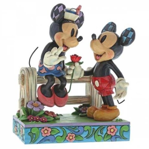 Mickey and Minnie - Blossoming Romance