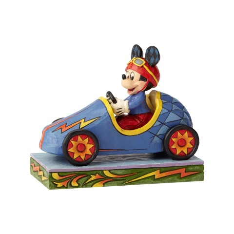 PREORDER Mickey Takes The Lead Soap Box Derby Mickey Disney Traditions