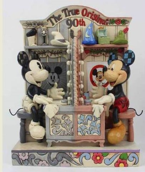 Mickey Mouse The True Original 90th Anniversary Figure  Disney Traditions