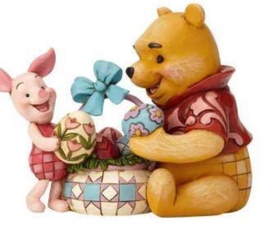 PREORDER  Spring Surprise  Pooh & Piglet Easter  Disney Traditions