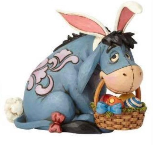 PREORDER  Eeyore Cottontail  Eeyore as Easter Bunny
