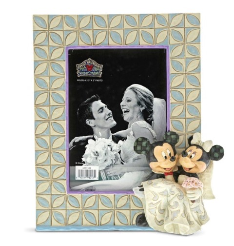 PREORDER  Mickey and Minnie Wedding Frame