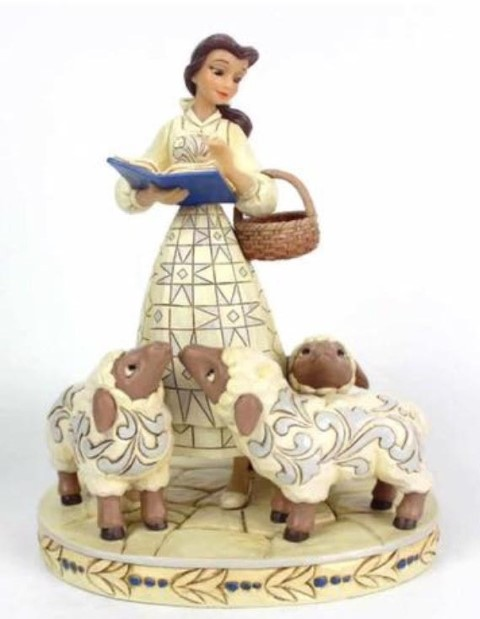 PREORDER  Bookish Beauty  Belle with Sheep