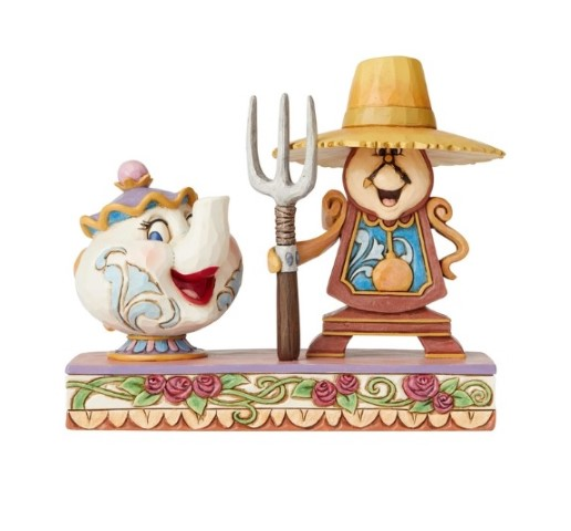 PREORDER  Workin Round the Clock  Cogsworth & Mrs Potts