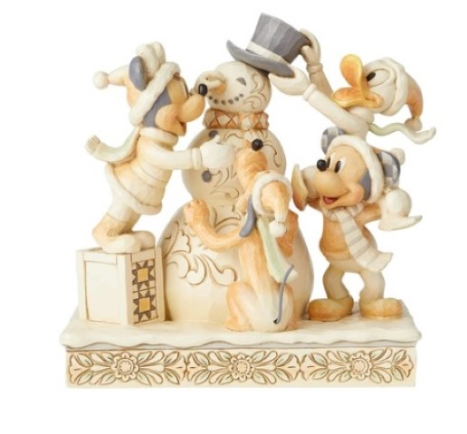 PREORDER  Frosty Friendship  Fab 4 White Woodland