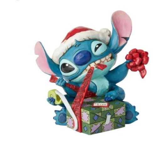 PREORDER  Bad Wrap  Santa Stitch Wrapping Present