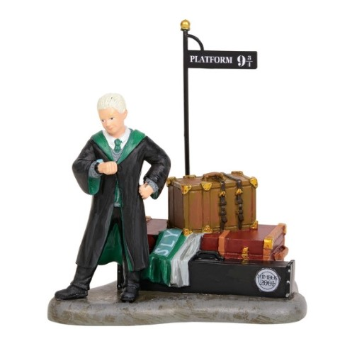 PREORDER  Draco waits at Platform 9 3/4