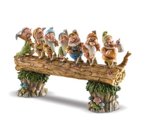 PREORDER  Seven Dwarfs on Log Musical Masterpiece