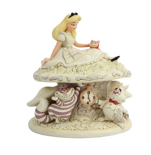PREORDER  Alice in Wonderland White Woodland