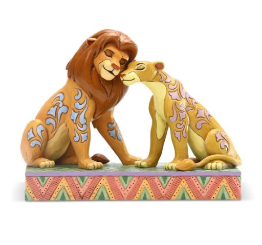 PREORDER  Simba and Nala Snuggling
