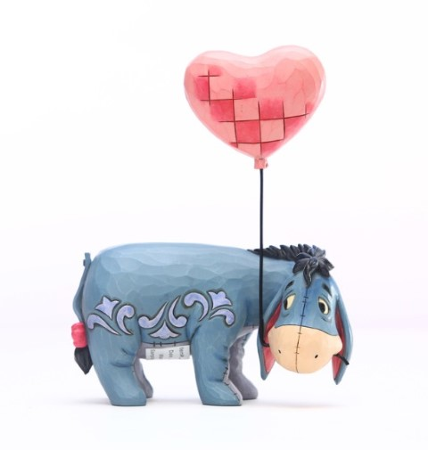 PREORDER  Eeyore with A Heart Balloon