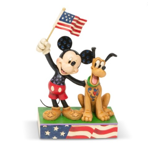 PREORDER Mickey and Pluto Patriotic