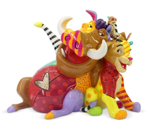Lion King Simba Timon Pumbaa Figure