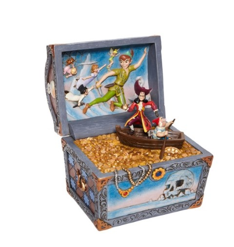 PREORDER Peter Pan Treasure Chest Scene