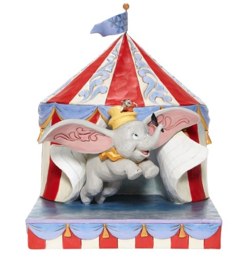 PREORDER Dumbo Flying Out of Tent Scene