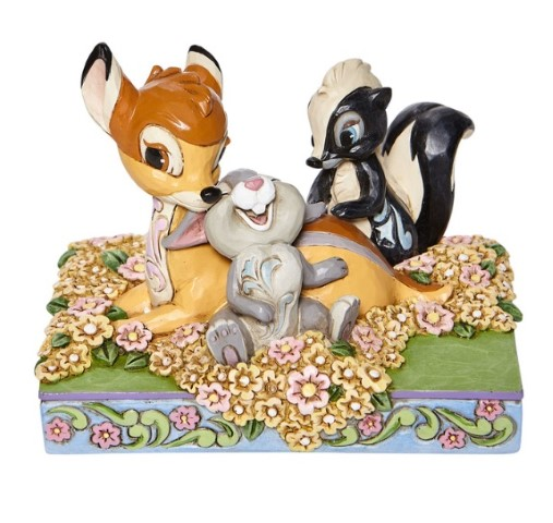 PREORDER Bambi & Friends in Flowers