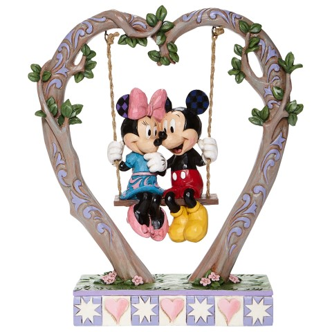 PREORDER Mickey & Minnie on Swing