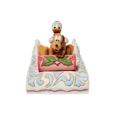 PREORDER A Friendly Race Donald and Pluto Sledding