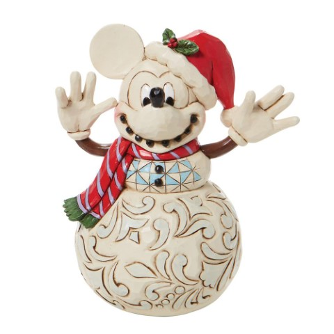 PREORDER Snowy Smiles Mickey Mouse Snowman