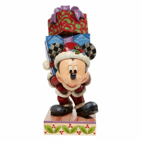 PREORDER Here Comes Old St Mick Mickey w Presents