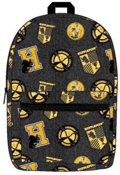 Hufflepuff All Over Print Backpack