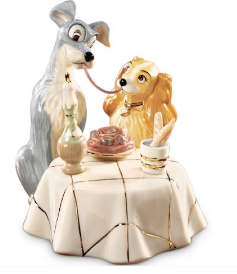 PREORDER  Lady and The Tramp Figurine