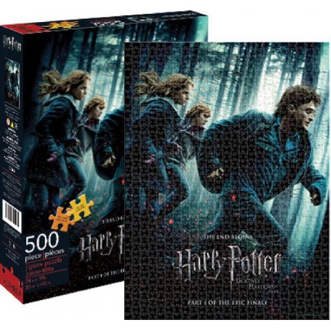 Harry Potter Deathly Hallows: Part 1  500pc Puzzle