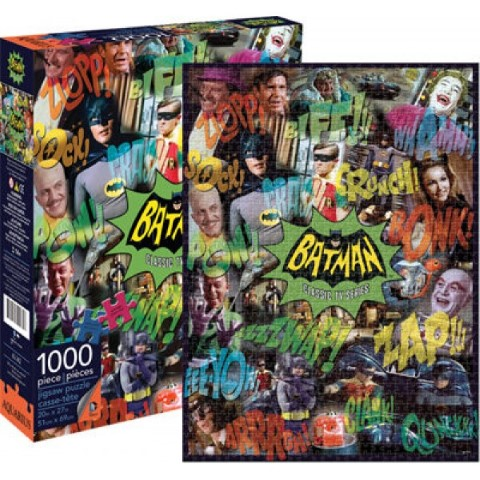 DC Comics Batman TV Collage 1000pc Puzzle