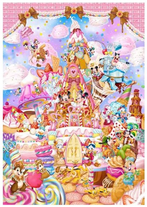 Mickeys Sweet Kingdom Puzzle 266pc