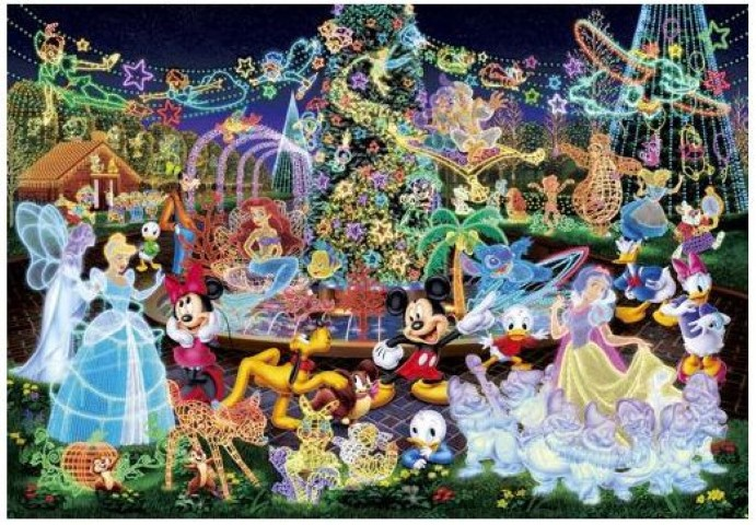 Disney Magical Illumination Puzzle 500pc