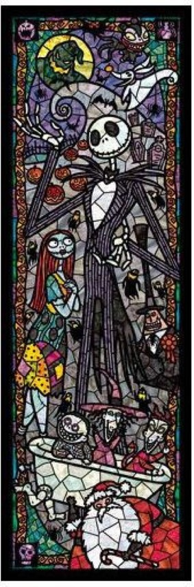 PREORDER  Nightmare Before Christmas Stained Glass 456pc