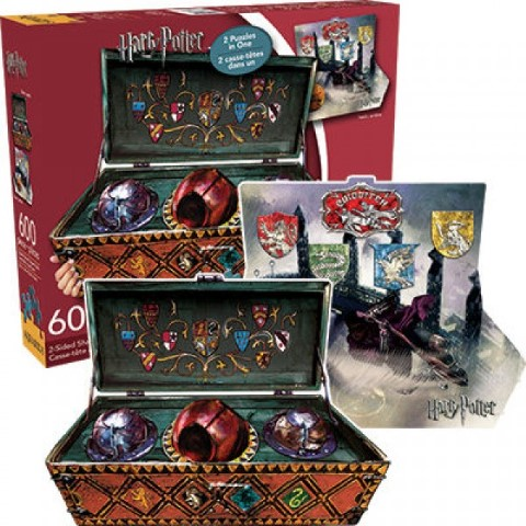 Harry Potter Quidditch Double Sided Puzzle