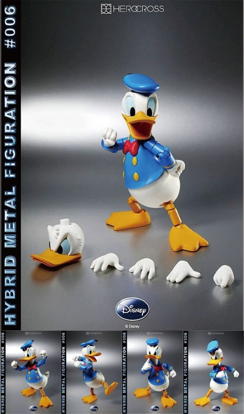 Donald Duck Hybrid Metal Figure