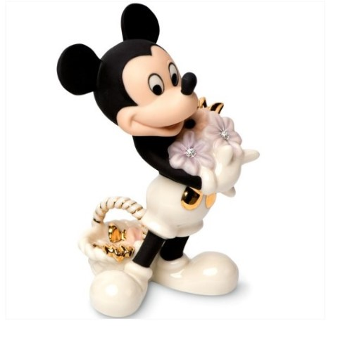 PREORDER  Mickey Flowers For You Figurine