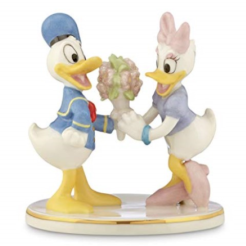 PREORDER  Donald and Daisy Together Forever Figurine