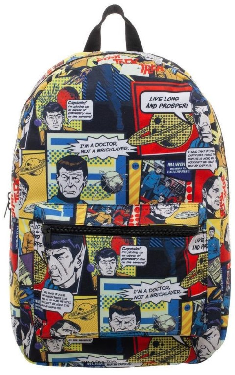 Star Trek All Over Print Comic Backpack