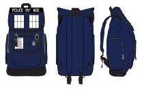 Doctor Who Tardis Unisex Navy Bag