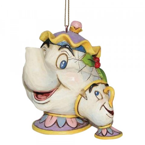 PREORDER Mrs Potts and Chip Hanging Ornament