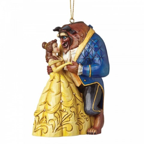 PREORDER Belle and Beast Hanging Ornament
