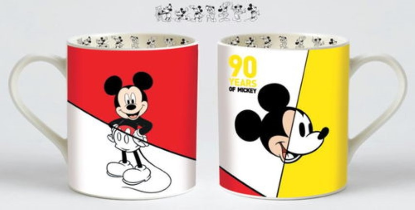 Disney Enchanting Mickey 90th Mug