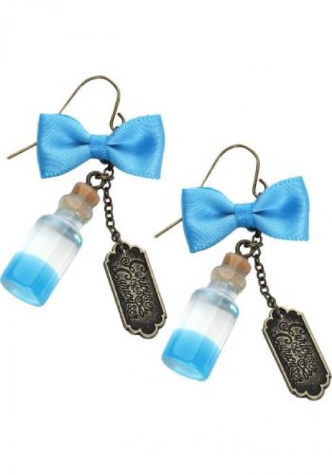 Alice in Wonderland - Curiouser Bottle Earrings