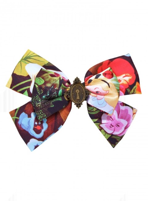 Alice in Wonderland - Enchanted Locket Bow