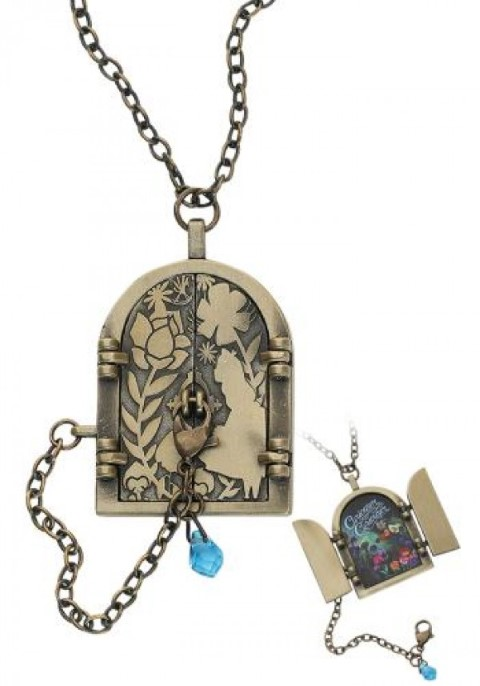 Alice in Wonderland - Curiouser Door Necklace