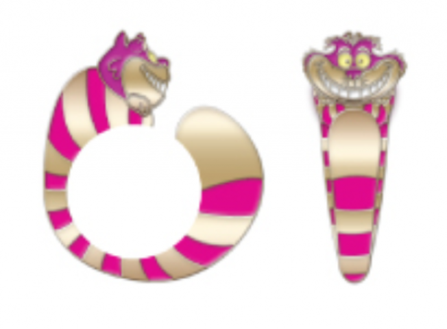 Alice in Wonderland - Cheshire Cat Ring