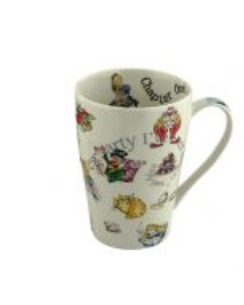 Alice in Wonderland 15oz Mug - Alice and Friends
