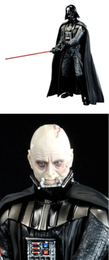 Star Wars Darth Vader Return of Anakin Sykwalker ArtFx+ Statue